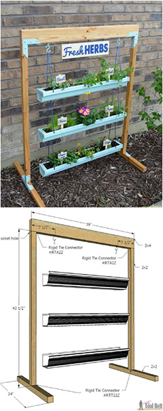9-gutter-planter-diyncrafts.com