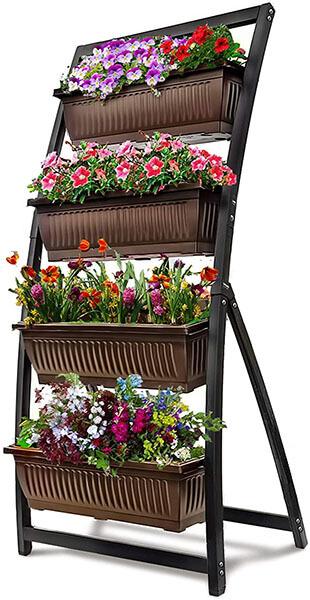 Freestanding vertical garden kit 1